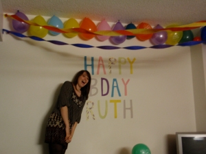 20th birthday partay decor