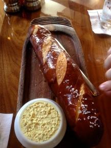 I need a pretzel baguette daily