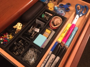 Organized drawer = happy drawer/happy Ruth
